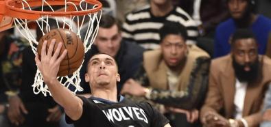 NBA: Konkurs wsadów 2016. Zach LaVine i Aaron Gordon dali popis