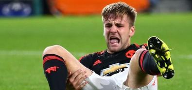 Luke Shaw złamał nogę w dwóch miejscach
