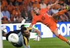 Piłka nożna: Holandia strzeliła sześć goli Irlandii Północnej