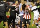 Bójka podczas derbów La Platy w Argentynie