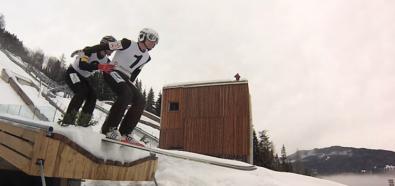 Skoki narciarskie: Pierwszy skok w historii w tandemie