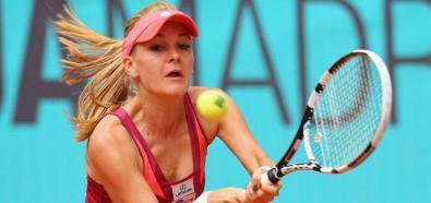 Agnieszka Radwańska - fenomenalne zagranie w meczu z Cibulkovą
