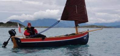 Olek Hanusz przepłynął Atlantyk odkrytopokładową żaglówką mieczową