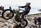 Dougie Lampkinc zachwyca umiejętnościami motorowego trialu