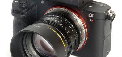 Kamlan FS 50 mm f/1.1, 28 mm f/1.4 oraz 7.5 mm f/3.2
