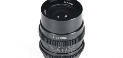 SLR Magic Cine 25 mm f/1.4 FE