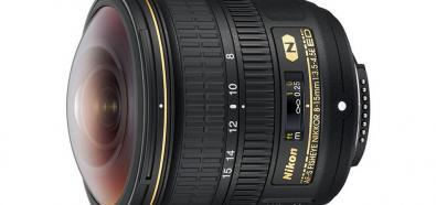 Nikon Nikkor AF-S Fisheye 8-15 mm f/3.5-4.5E ED