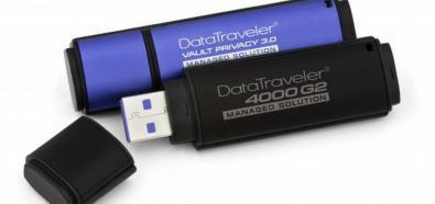Kingston DataTraveler 4000G2 i DataTraveler Vault Privacy 3.0