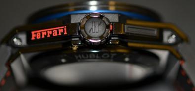 Hublot Big Bang Ferrari Beverly Hills - stylowy zegarek nawiązujący wyglądem do deski rozdzielczej