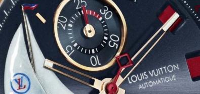Louis Vuitton - Tambour spin Time Regetta - zegarek poświęcony jachtom